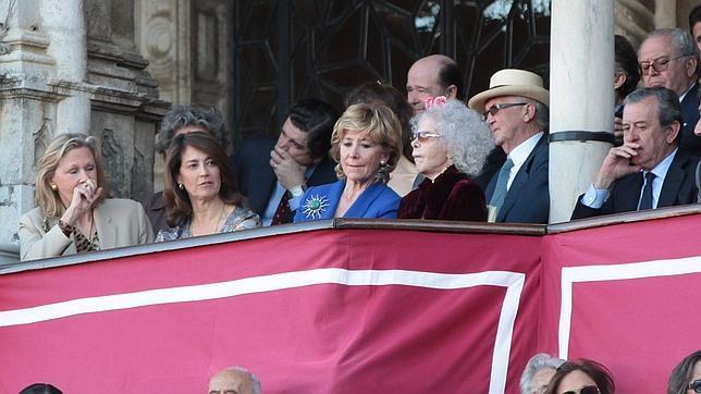 Esperanza Aguirre pronunciará el pregón taurino de la Feria de Abril de 2014