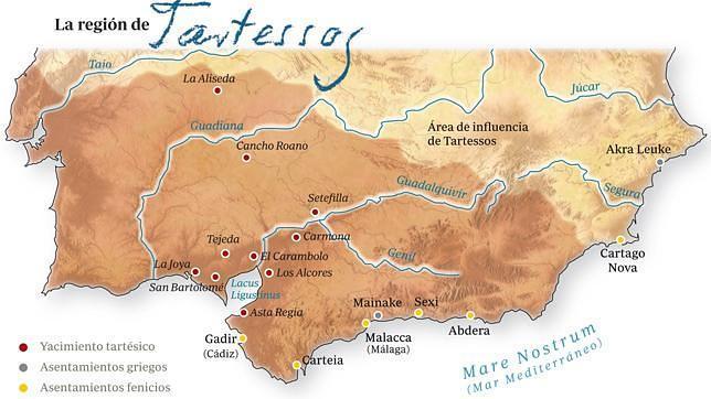 ¿Dónde estaba ubicada Tartessos?