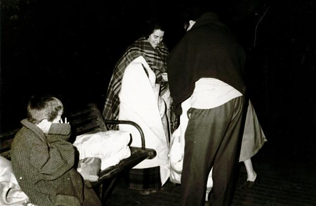 Un fuerte terremoto de 7,3 grados hizo que miles de sevillanos desalojaran sus casas durante la madrugada del 28 de febrero de 1969