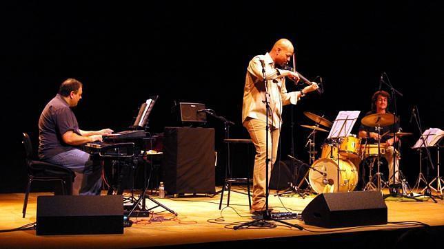 Antonio Lizana y Leandro Perpiñán, en el Festival de Jazz de Dos Hermanas