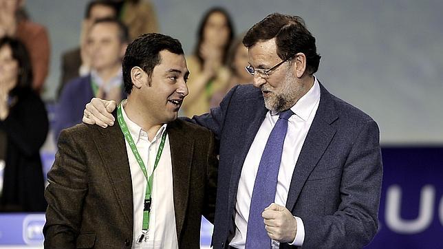 Rajoy mete presión a Moreno Bonilla: «El reto es San Telmo»