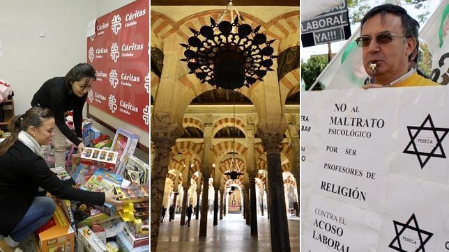 PSOE e IU redoblan la presión de la Junta sobre la Iglesia