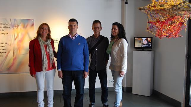 Una exposición en Dos Hermanas recoge la obra del artista Ricardo Rojas