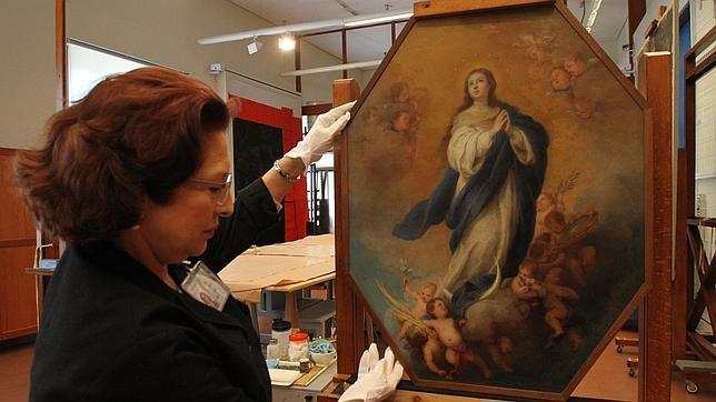«Inmaculada» de Murillo que se verá en breve en el Bellas Artes
