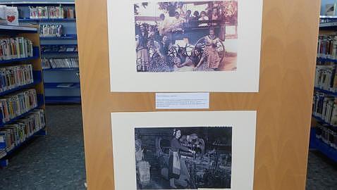 Una exposición fotográfica rescata del pasado la vida en Dos Hermanas