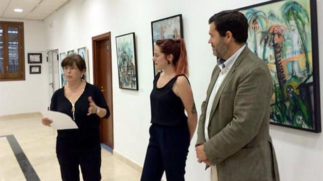Las obras de la artista Marta Zubieta en el Teatro Municipal