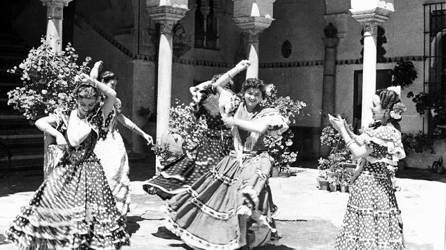 La evolución del traje de flamenca