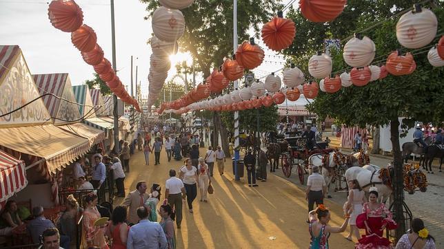 ¿Un día festivo en la Feria de Abril de Sevilla de 2015?