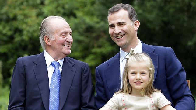 Así queda el árbol sucesorio en la Familia Real