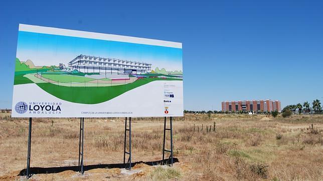 Arrancan las obras para reurbanizar los terrenos de loyola - El tiempo en dos hermanas sevilla por horas ...