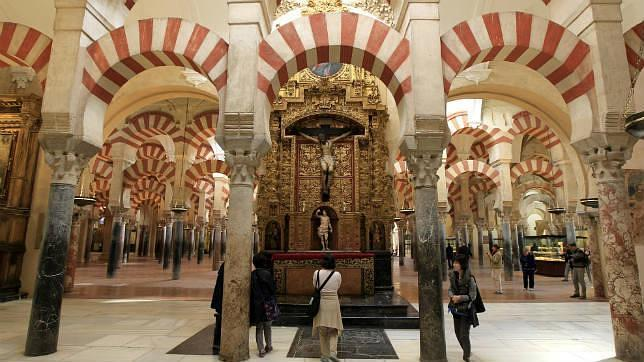 interior de la mezquita catedral de crdoba abc de sevilla