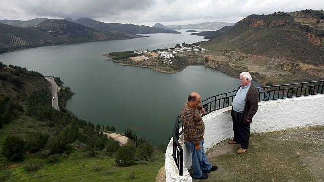 El pantano de Iznájar cumple 45 años