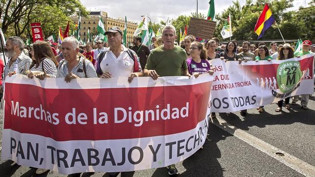 IU se manifiesta contra sí misma en el Parlamento de Andalucía