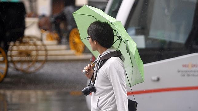 Alerta amarilla por tormentas en seis provincias andaluzas este martes