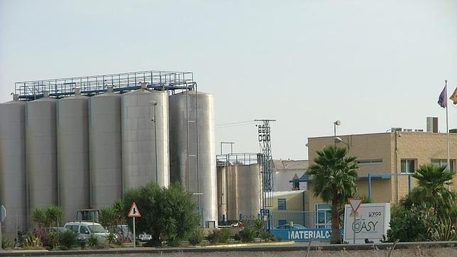 Fábrica de harinas para piensos de Dasy en Osuna