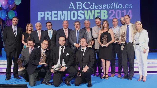 Las empresas sevillanas más activas en internet, premiadas por ABC de Sevilla