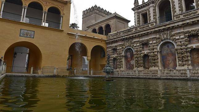 La fuente y el estanque de Mercurio, escenario perfecto para «Juego de tronos»