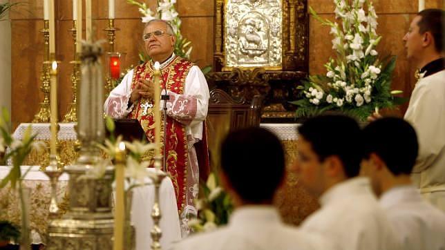 El obispo de Córdoba, en una eucaristía