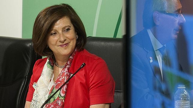 La consejera de Salud, María José Sánchez Rubio