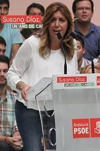 Susana Díaz, en el aniversario de su mandato en la Junta: «Soy roja y decente»