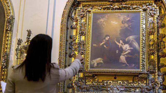 Restauran tres obras de Murillo de la iglesia de la Caridad de Sevilla