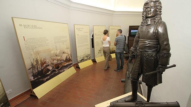 Escultura de Blas de Lezo que se puede ver en esta exposición