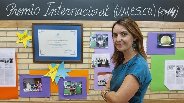 Ana García, directora del Centro de Adultos Polígono Sur