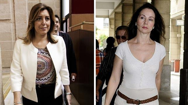 Susana Díaz y Mercedes Alaya, duelo en las alturas