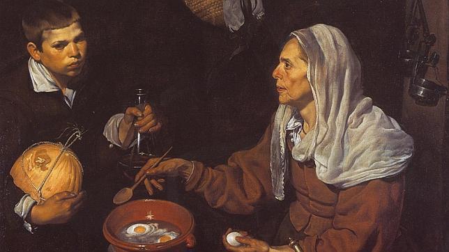 «Vieja friendo huevos» es una de las mejores pinturas de la etapa sevillana de Velázquez