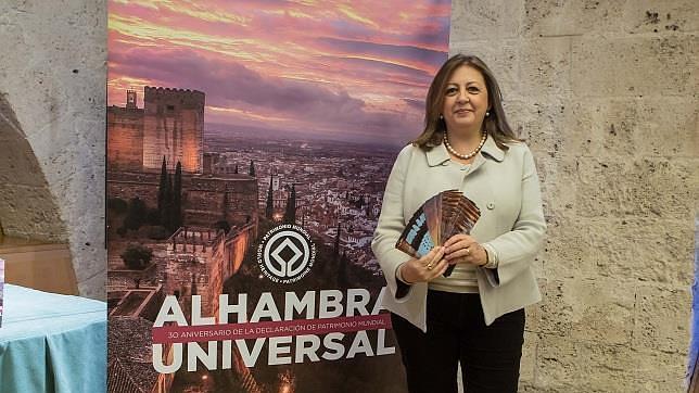 Presentación de las Jornadas de puertas abiertas en la Alhambra