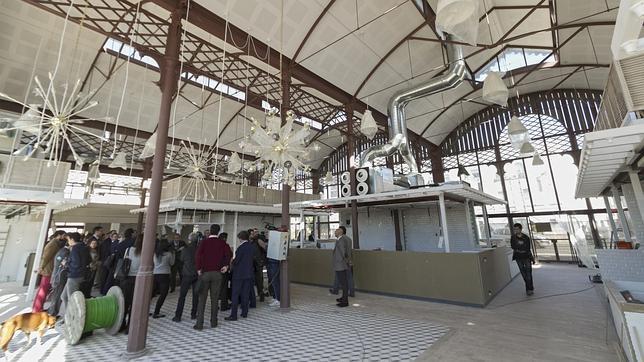 El mercado del Barranco aún en obras