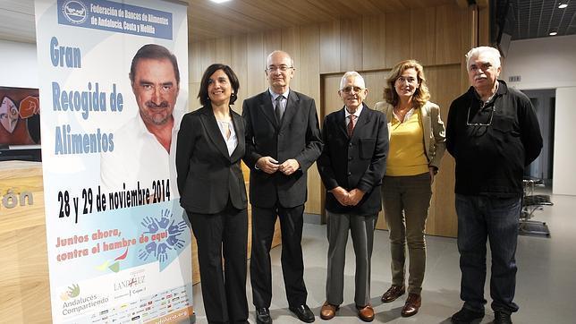Presentación en la Fundación Cajasol de la Gran Recogida de Alimentos de Córdoba