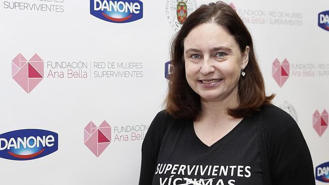 Ana Bella, fundadora de la asociación de lleva su nombre y que lucha contra la violencia en las mujeres
