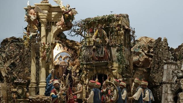 Se inauguara la exposición del Nacimiento napolitano de la Santa Caridad de Sevilla