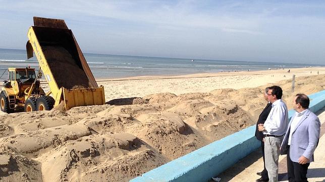 Autoridades de Huelva y Almonte han supervisado los trabajos