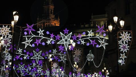 Luces navideñas en Sevilla