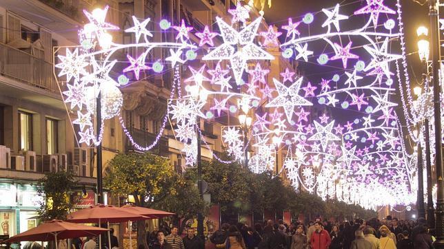 Las luces de navidad de sevilla se enceder n a las horas - Iluminacion sevilla ...