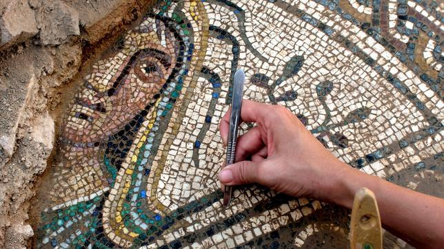 Los mosaicos romanos, un remedio para el mal de ojo