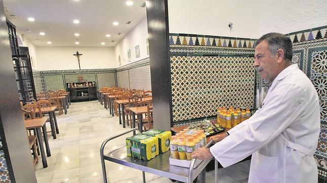 Comedor social de San Juan de Dios - ABC de Sevilla