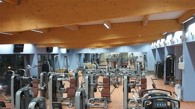 Sala de máquinas en el Centro Deportivo Poniente