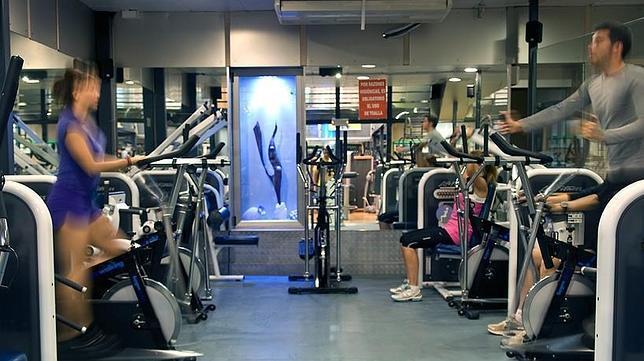 Una de las salas de cardio del Gym Sierra