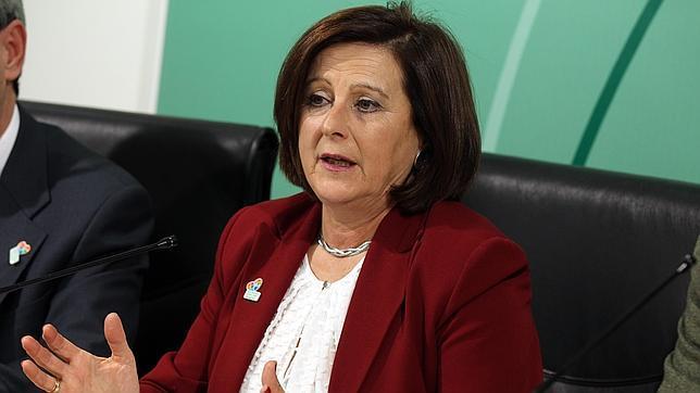 María José Sánchez Rubio, consejera de Igualdad, Salud y Políticas Sociales, este lunes