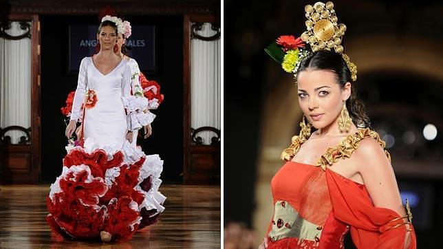 La moda flamenca se da cita en sevilla - Disenadores de sevilla ...