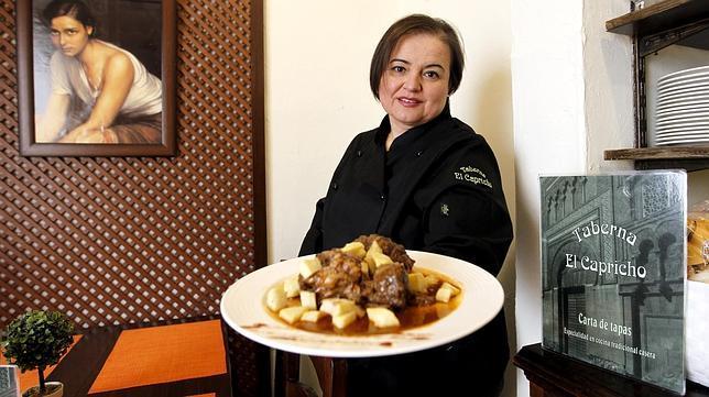 Toñy Carmona, en la Taberna El Capricho, en la Judería