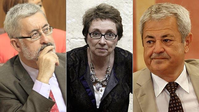 El PSOE incluye a los imputados por los ERE en la Diputación Permanente para que sigan siendo aforados