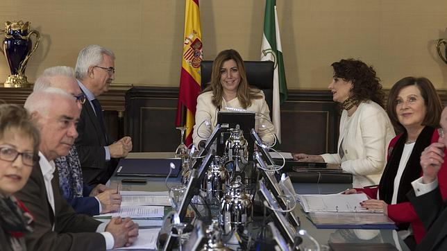 Imagen del Consejo de Gobierno celebrado este martes
