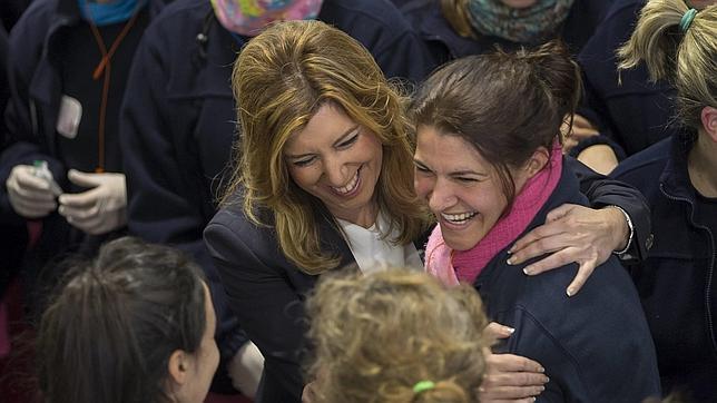 Susana Díaz: a promesa por día desde que adelantó las elecciones