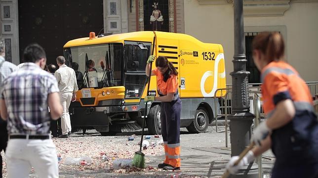 ¿Está Sevilla más limpia que hace cuatro años?