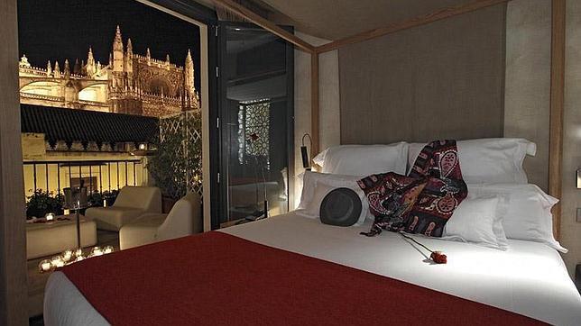 Suite con vistas a la Catedral en el Hotel EME Catedral