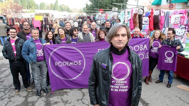 Imagen de la candidatura crítica de Podemos en Córdoba